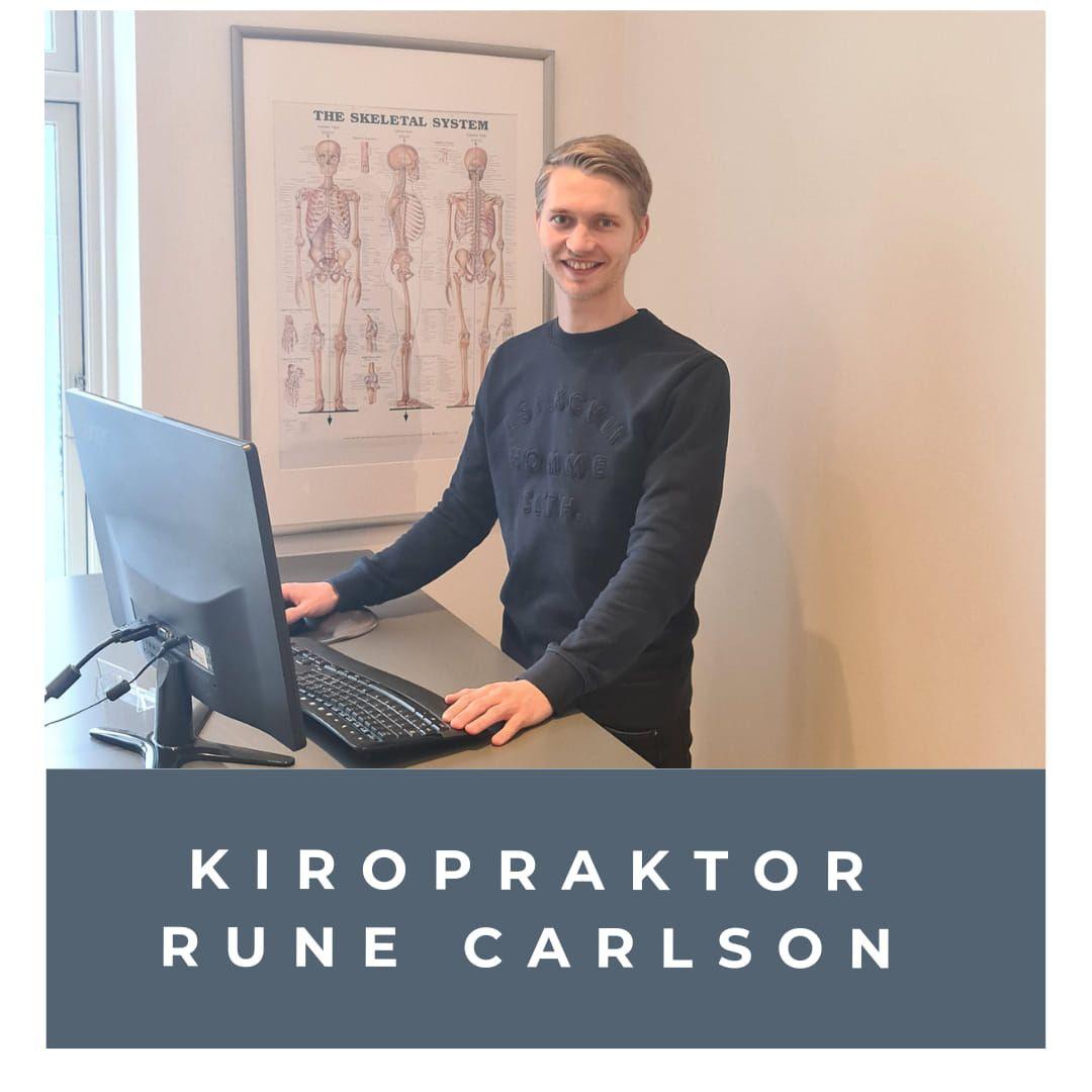 Velkommen til vores nye Kiropraktor Rune Carlson